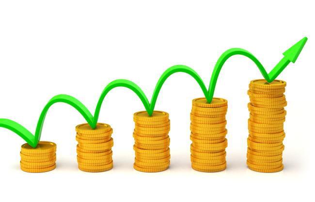 投資でお金が増えていくイメージ